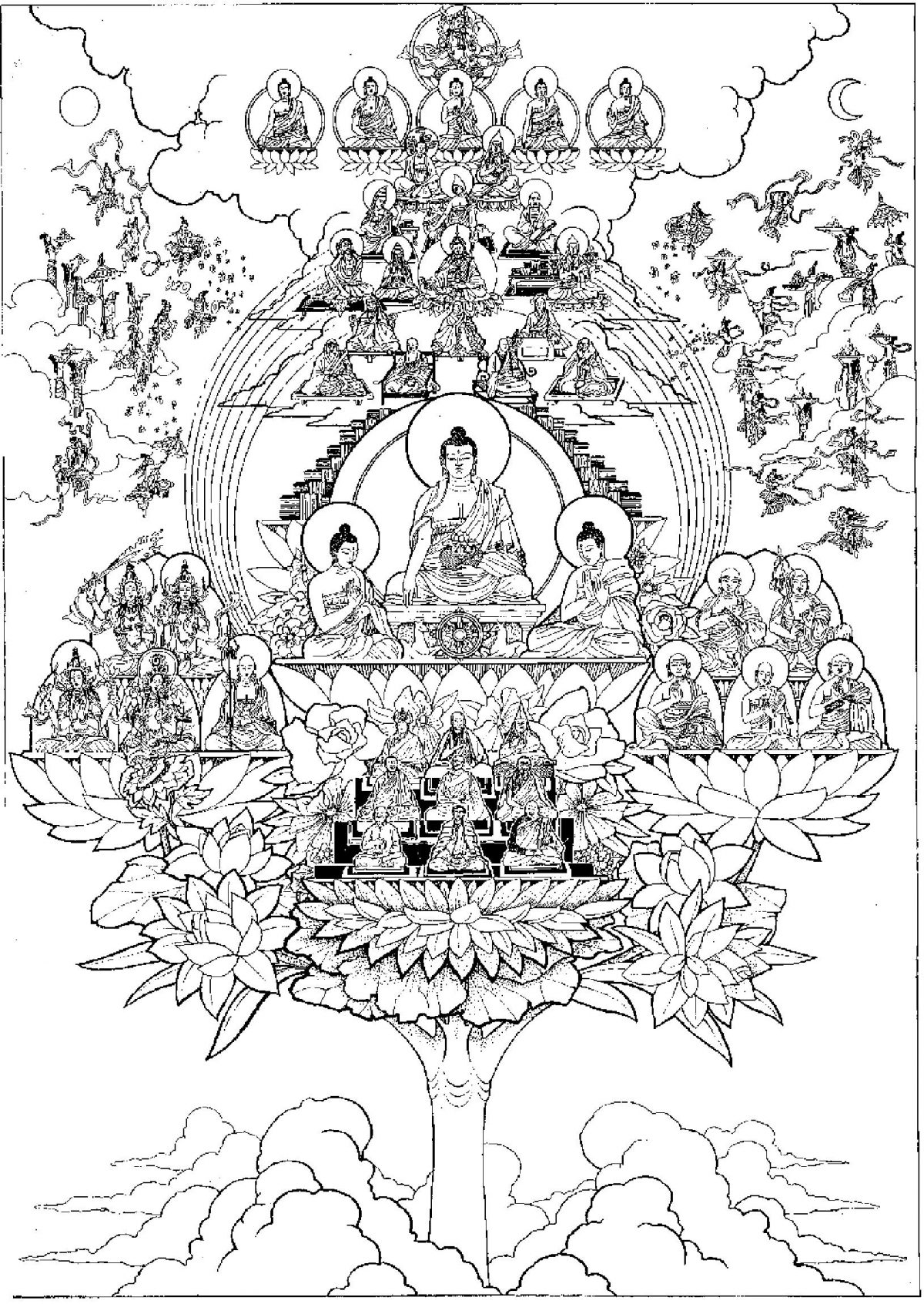 Meditation and Buddhism in the Summer